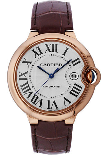 Cartier Watches - Ballon Bleu 42mm - Pink Gold - Style No: W6900651