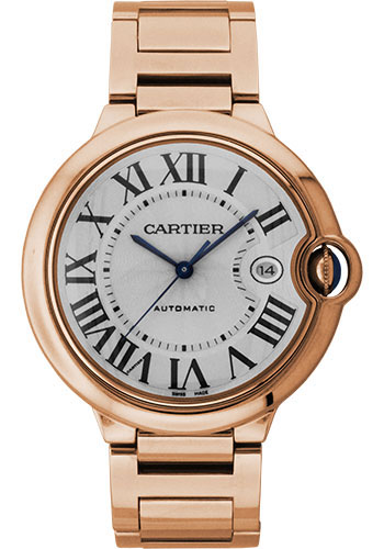 Cartier Watches - Ballon Bleu 42mm - Pink Gold - Style No: W69006Z2