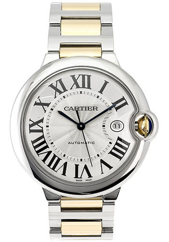 Cartier Watches - Ballon Bleu 42mm - Steel and Yellow Gold - Style No: W69009Z3