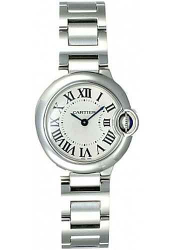 Cartier Watches - Ballon Bleu 28mm - Stainless Steel - Style No: W69010Z4