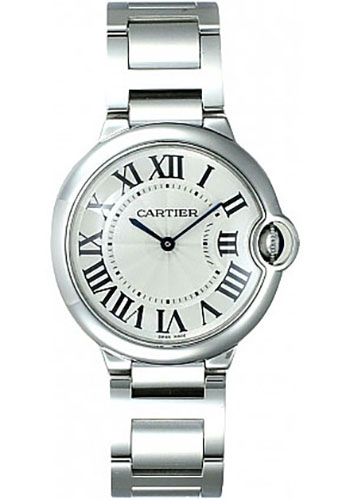 Cartier Watches - Ballon Bleu 36mm - Stainless Steel - Style No: W69011Z4