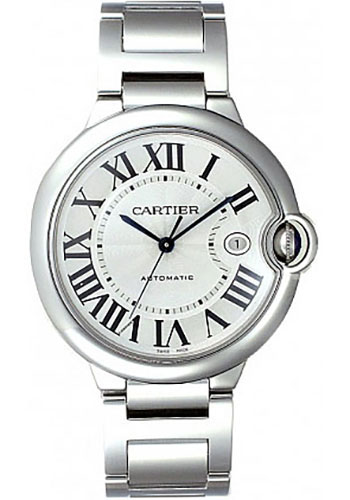 Cartier Watches - Ballon Bleu 42mm - Stainless Steel - Style No: W69012Z4