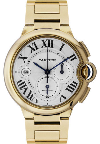 Cartier Watches - Ballon Bleu 46mm - Yellow Gold - Style No: W6920008