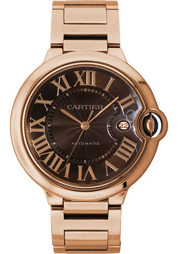 Cartier Watches - Ballon Bleu 42mm - Pink Gold - Style No: W6920036