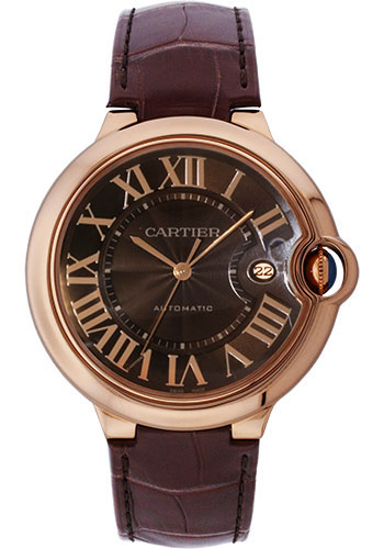 Cartier Watches - Ballon Bleu 42mm - Pink Gold - Style No: W6920037
