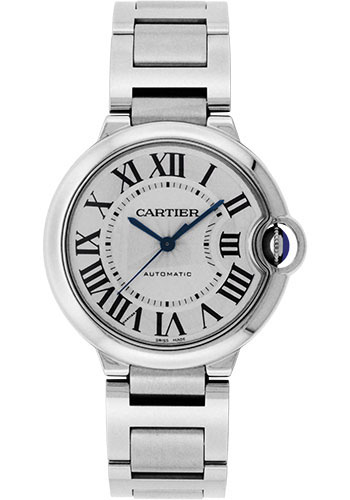 Cartier Watches - Ballon Bleu 36mm - Stainless Steel - Style No: W6920046