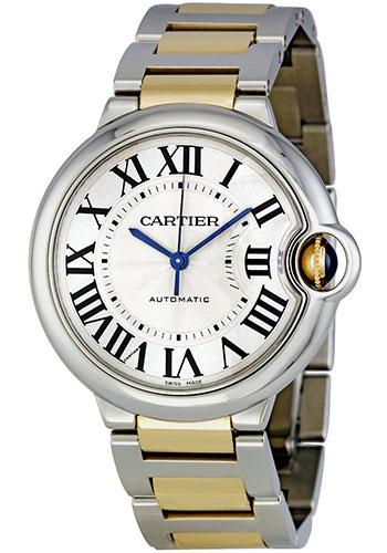 Cartier Watches - Ballon Bleu 36mm - Steel and Yellow Gold - Style No: W6920047