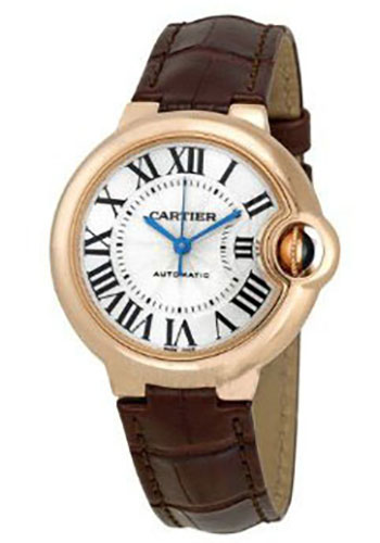 Cartier Watches - Ballon Bleu 33mm - Pink Gold - Style No: W6920097