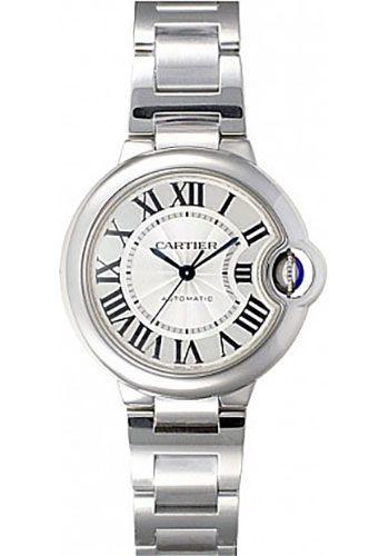 Cartier Watches - Ballon Bleu 33mm - Stainless Steel - Style No: W6920071