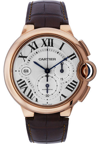 Cartier Watches - Ballon Bleu 46mm - Pink Gold - Style No: W6920009