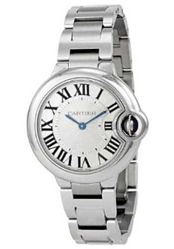 Cartier Watches - Ballon Bleu 33mm - Stainless Steel - Style No: W6920084