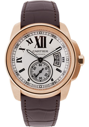 Cartier Watches - Calibre de Cartier 42mm - Automatic - Pink Gold - Style No: W7100009