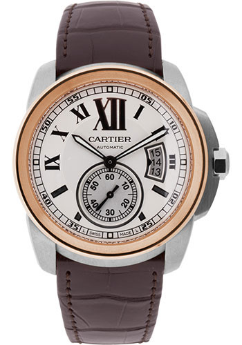 Cartier Watches - Calibre de Cartier 42mm - Automatic - Steel and Gold - Style No: W7100039