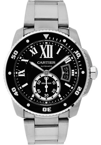 Cartier Watches - Calibre de Cartier Diver - Stainless Steel - Style No: W7100057