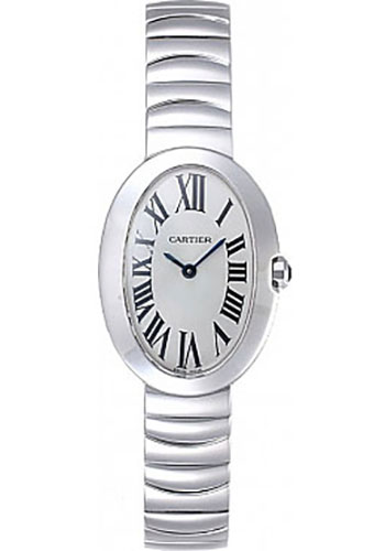 Cartier Watches - Baignoire Small - White Gold - Style No: W8000006