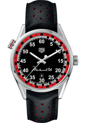 Tag Heuer Watches - Carrera Calibre 5 - Ring Master - Muhammad Ali - Style No: WAR2A11.FC6337