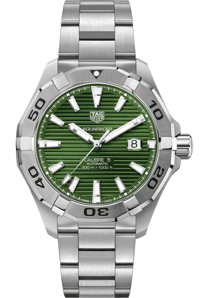 Tag Heuer Watches - Aquaracer Automatic Calibre 5 - Style No: WAY2015.BA0927