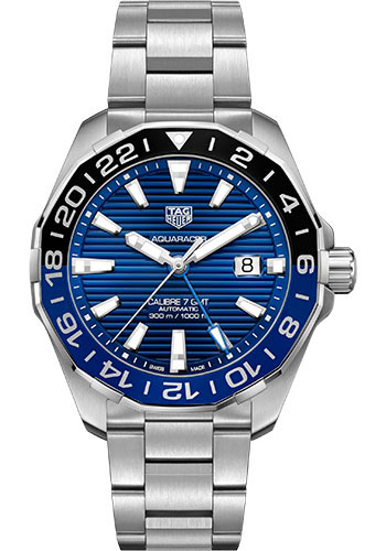 Tag Heuer Watches - Aquaracer Automatic Calibre 7 - Style No: WAY201T.BA0927