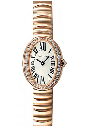 Cartier Watches - Baignoire Mini - Pink Gold - Style No: WB520026