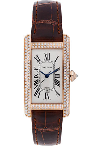 Cartier Watches - Tank Americaine Medium - Pink Gold - Style No: WB704751