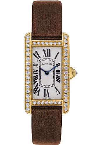 Cartier Watches - Tank Americaine Small - Yellow Gold - Style No: WB707231