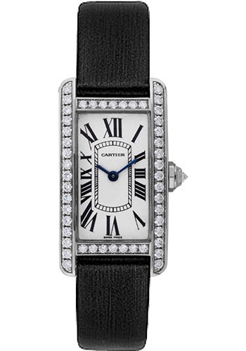 Cartier Watches - Tank Americaine Small - White Gold - Style No: WB707331