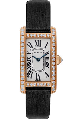 Cartier Watches - Tank Americaine Small - Pink Gold - Style No: WB707931