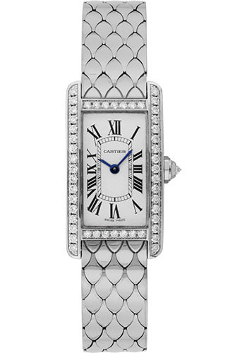 Cartier Watches - Tank Americaine Small - White Gold - Style No: WB710009