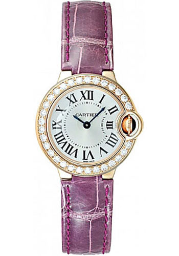 Cartier Watches - Ballon Bleu Pink Gold With Diamonds - Style No: WE900251