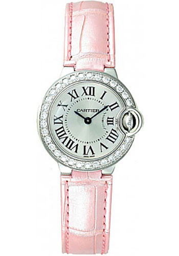 Cartier Watches - Ballon Bleu White Gold With Diamonds - Style No: WE900351