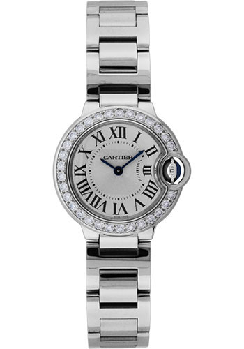 Cartier Watches - Ballon Bleu White Gold With Diamonds - Style No: WE9003Z3