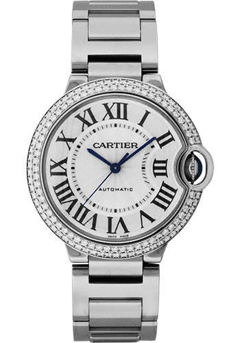 Cartier Watches - Ballon Bleu White Gold With Diamonds - Style No: WE9006Z3