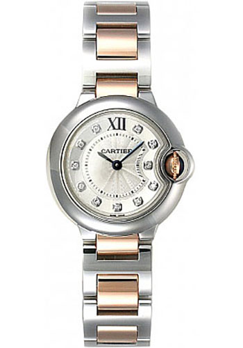 Cartier Watches - Ballon Bleu 38mm - Steel and Pink Gold - Style No: WE902030
