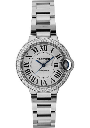 Cartier Watches - Ballon Bleu White Gold With Diamonds - Style No: WE902035