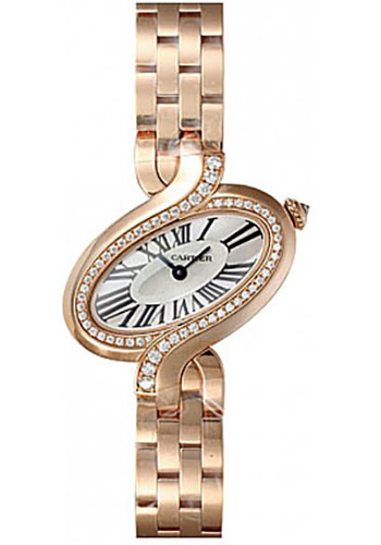 Cartier Watches - Delices de Cartier Small Pink Gold - Style No: WG800003