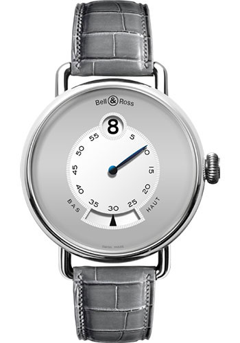 Bell & Ross Watches - Vintage BR WW1 Heure Sautante - Style No: WW1 Heure Sautante platinum