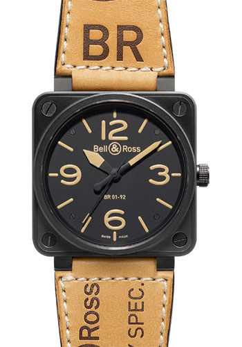 Bell & Ross Watches - BR 01-92 Automatic Heritage - Style No: BR 01-92 Heritage
