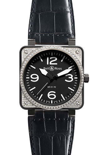 Bell & Ross Watches - BR 01-92 Automatic Diamonds - Style No: BR 01-92 Top Diams Bicolor
