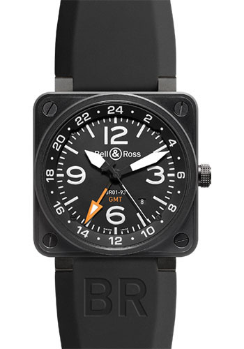 Bell & Ross Watches - BR 01-93 GMT - Style No: BR 01-93 GMT