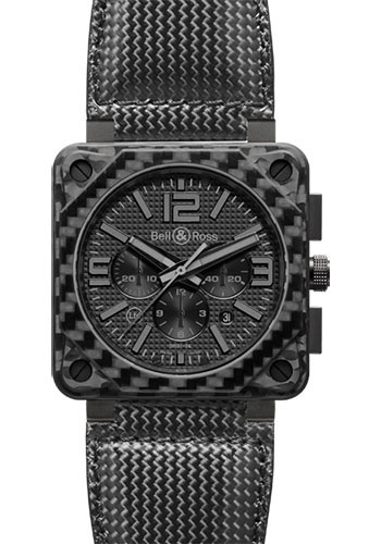Bell & Ross Watches - BR 01-94 Chronograph Carbon Fiber - Style No: BR 01-94 Carbon Fiber Phantom