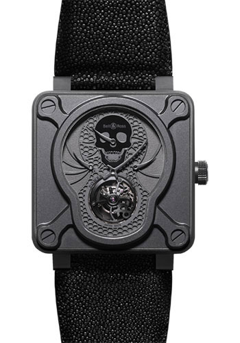Bell & Ross Watches - BR 01 Tourbillon Airborne - Style No: BR 01 Tourbillon Skull