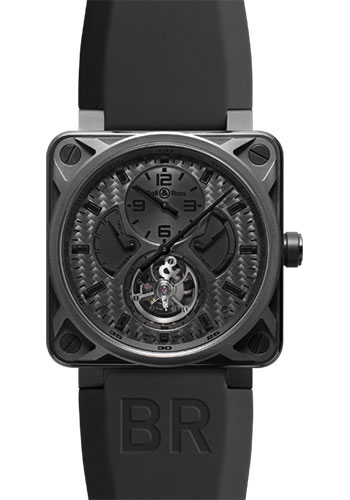 Bell & Ross Watches - BR 01 Tourbillon Phantom - Style No: BR 01 Tourbillon Phantom