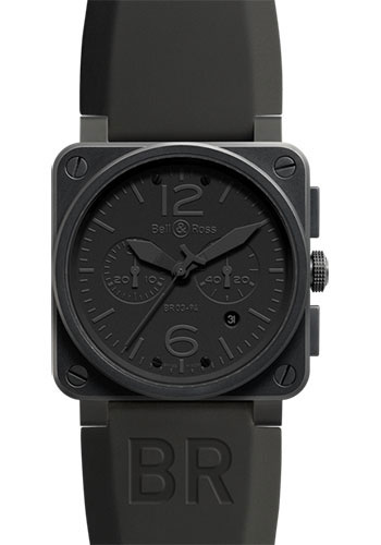 Bell & Ross Watches - BR 03-94 Chronograph Phantom - Style No: BR 03-94 Phantom
