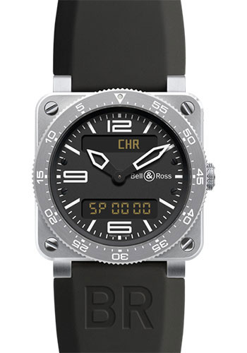 Bell & Ross Watches - BR 03 Aviation - Style No: BR 03 Type Aviation Steel