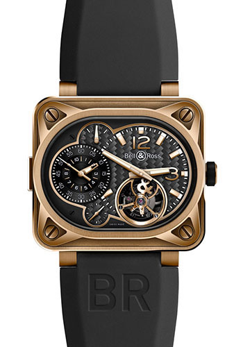Bell & Ross Watches - BR 01 Tourbillon Minuteur - Style No: BR Minuteur Tourbillon Rose Gold
