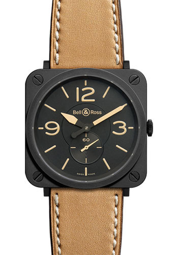 Bell & Ross Watches - BR-S Quartz Heritage - Style No: BRS-HERI-CEM