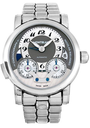 Montblanc Watches - Nicolas Rieussec Chronograph Automatic - Style No: 102336