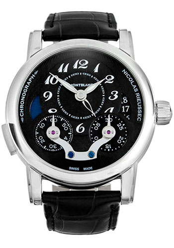Montblanc Watches - Nicolas Rieussec Chronograph Automatic - Style No: 106488