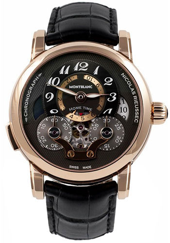 Montblanc Watches - Nicolas Rieussec Chronograph Open Home Time - Style No: 107067