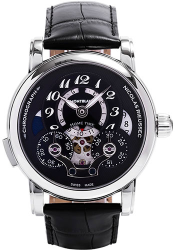 Montblanc Watches - Nicolas Rieussec Chronograph Open Home Time - Style No: 107070
